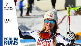 Mikaela Shiffrin   Ladies' Super-G   Cortina   1st place   FIS Alpine