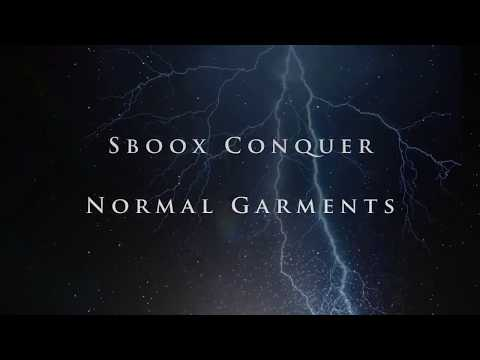 Normal Garments. Sboox Conquer