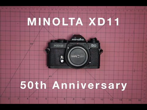 Replacing The Leather On The Minolta XD11 50th Anniversary