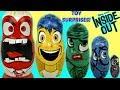 Disney Pixar INSIDE OUT Nesting Matryoshka Dolls Toy Surprise