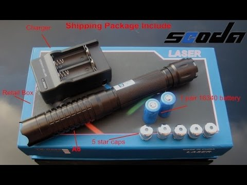 Real high Power blue Laser Pointer 1000MW - burning match etc