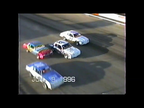 Wakeeney Speedway June 9 1996 Stock Car Heat #2