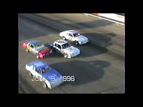 Wakeeney Speedway June 9 1996 Stock Car Heat #2