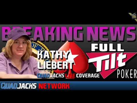 Kathy Liebert speaking on Full Tilt Poker being taken over by Pokerstars QuadJacks July 31, 2012