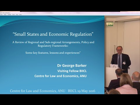 Day 1, Keynote Panel: Commercial Relations with Small States: Part 4: George Barker