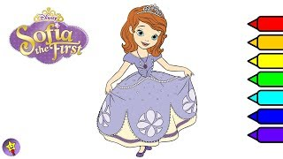 Disney Sofia The First Coloring Book Princess Sofia Coloring Page