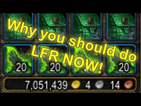 WoW Legion Looking For Raid Gold Farming |WoW Gold Guide 7.2.5| World of Warcraft Gold Farming 7.2.5