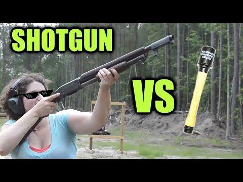 Trench Shotgun vs German Grenade (WW1 myth)