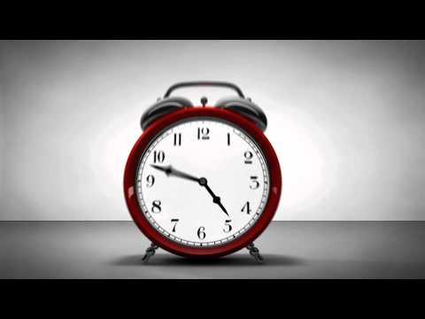 Animated Cartoon Clock