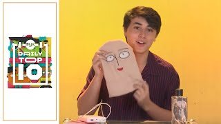 EDWARD BARBER Reveals Something He Can't Live Without In This Bag Raid! | MYX DAILY TOP 10