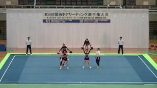 宝塚東高 VICTORY VENUS/第26回関西チアリーディング選手権大会2017