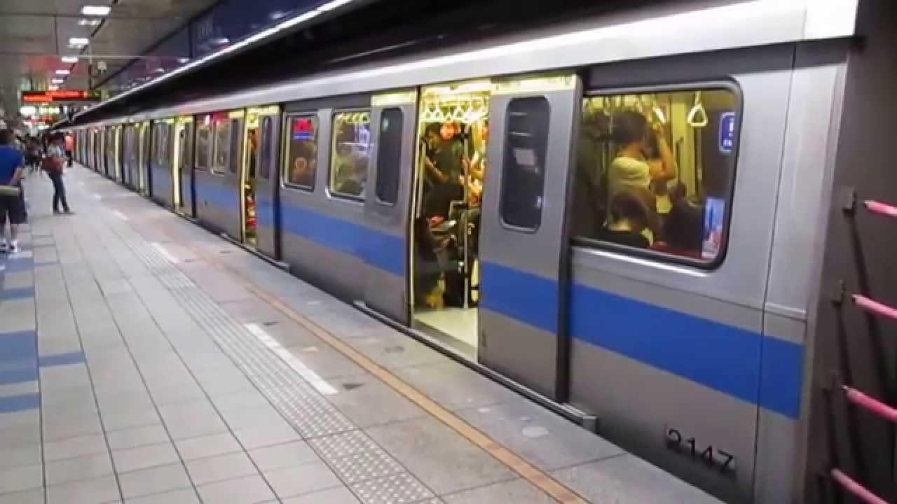 臺北捷運321型列車往南港展覽館進出亞東醫院站 - YouTube