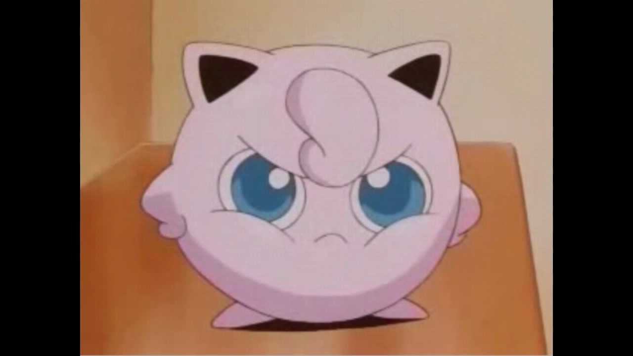 jigglypuff is mad at you too youtube