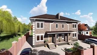 3D видеооблет проекта дома  «Вестафалия»