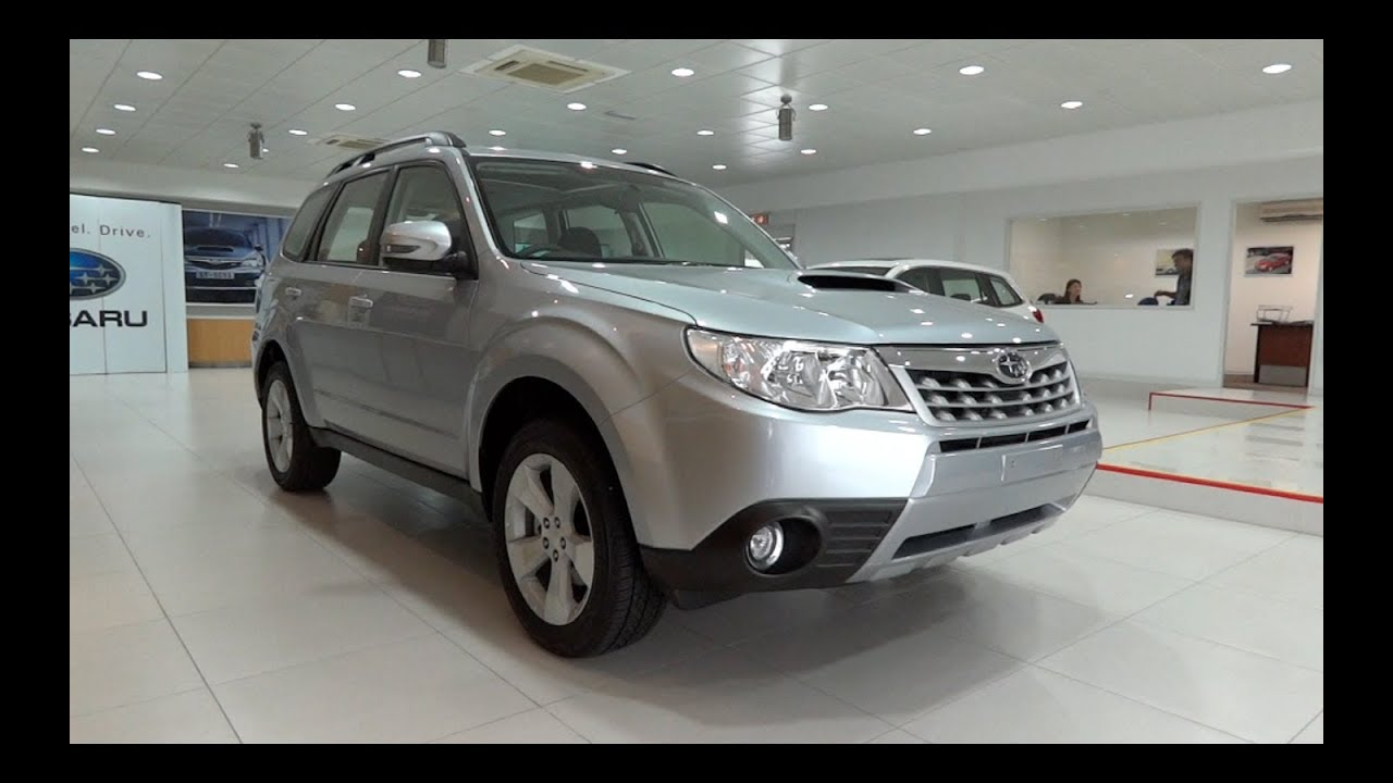 2012 subaru forester 2 5 xt awd start up and full vehicle tour