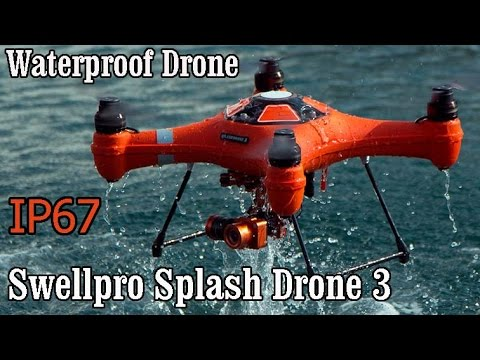 Swellpro Splash Drone 3 Introducing. All Weather Waterproof Drone