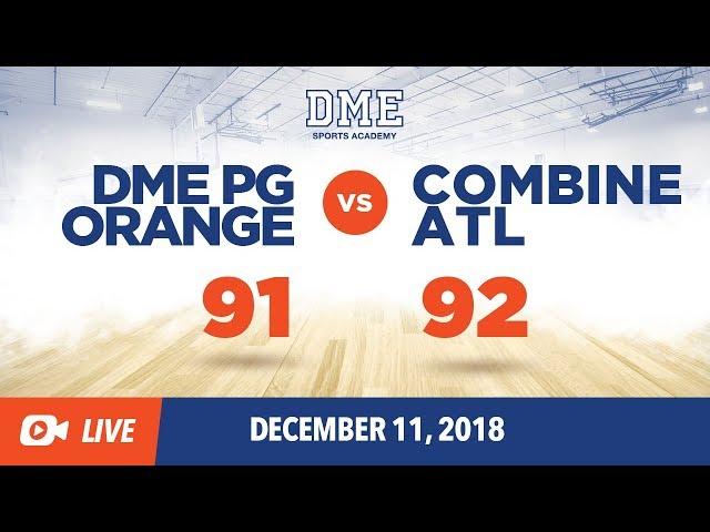 DME PG Orange vs Combine ATL