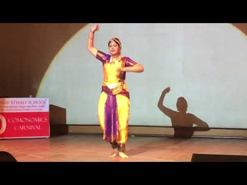 MSS One of the Indian Classical - Bharatnatyam Dancer Mehak Sharma