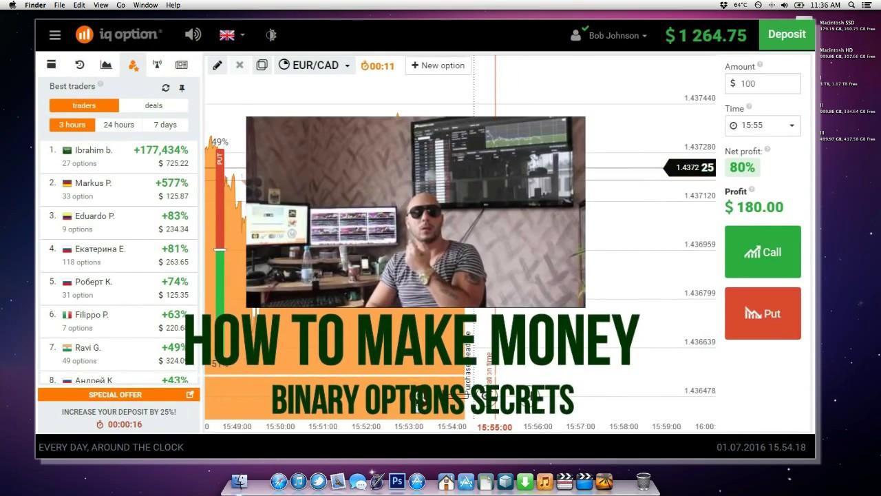 Secret binary options trading strategy