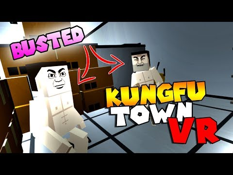 SAUSAGE PARTY BACKSTAGE?! • KUNGFU TOWN VR - HTC VIVE