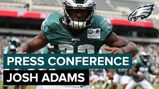 RB Josh Adams: 'It's A Blessing' To Be Added To 53-Man Roster | Eagles Press Pass