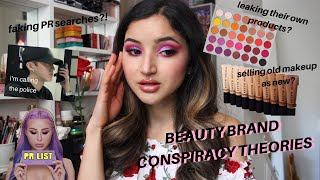 BEAUTY BRAND CONSPIRACY THEORIES ✰ makeup industry sEcReTs | tinfoil hat collab with amandabb!