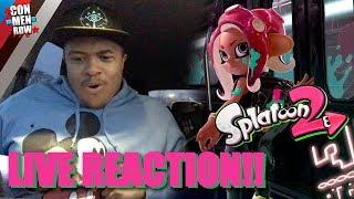 SPLATOON 2 OCTO EXPANSION LIVE REACTION!!! | Nintendo Direct 3.8.2018