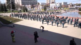 Флешмоб курсантов Ивановского института ГПС МЧС России