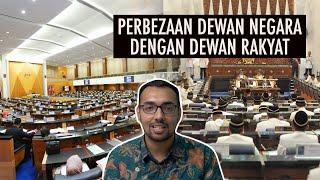 Download Perbezaan Dewan Negara dengan Dewan Rakyat