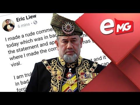 HINA AGONG : Eric Liew Mohon Maaf | Edisi MG 7 JANUARI 2019
