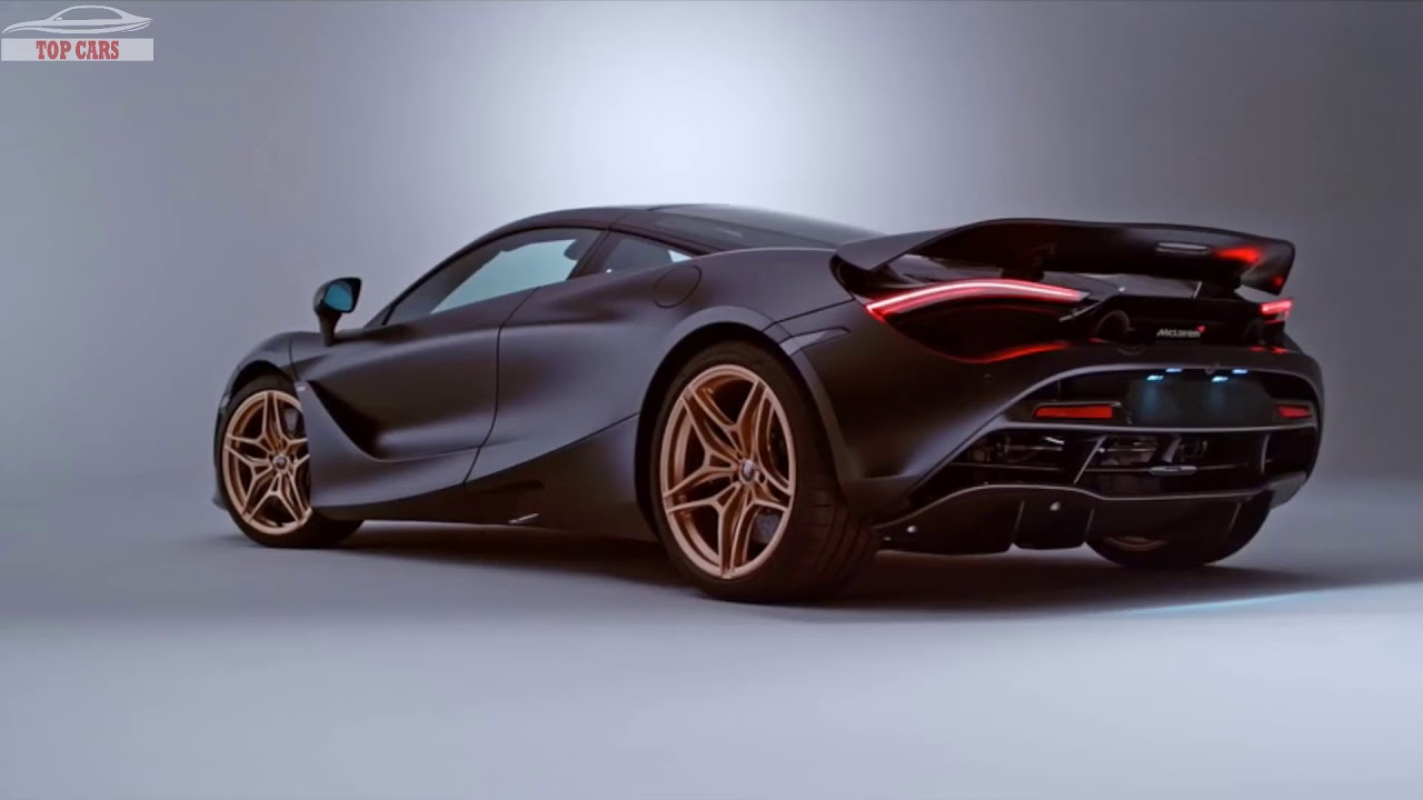 Top Cars Mso Mclaren 720s Gold Black Best Luxury Sport Car 2018