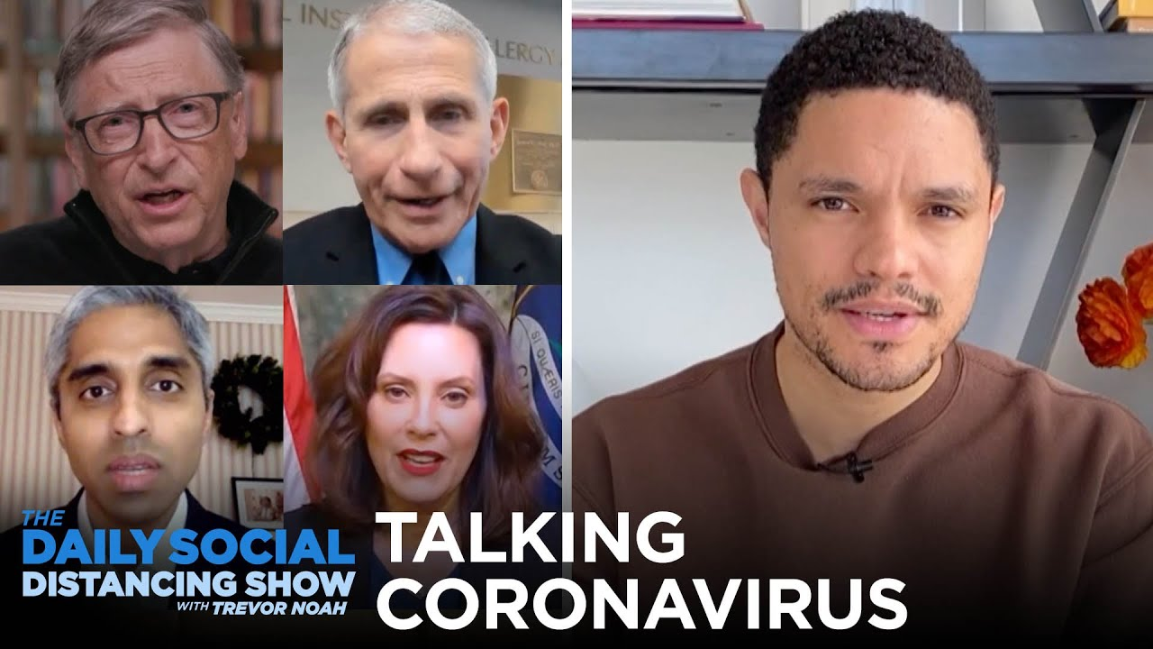 Talking Coronavirus with Medical Professionals & Politicians | The Daily Social Distancing Show