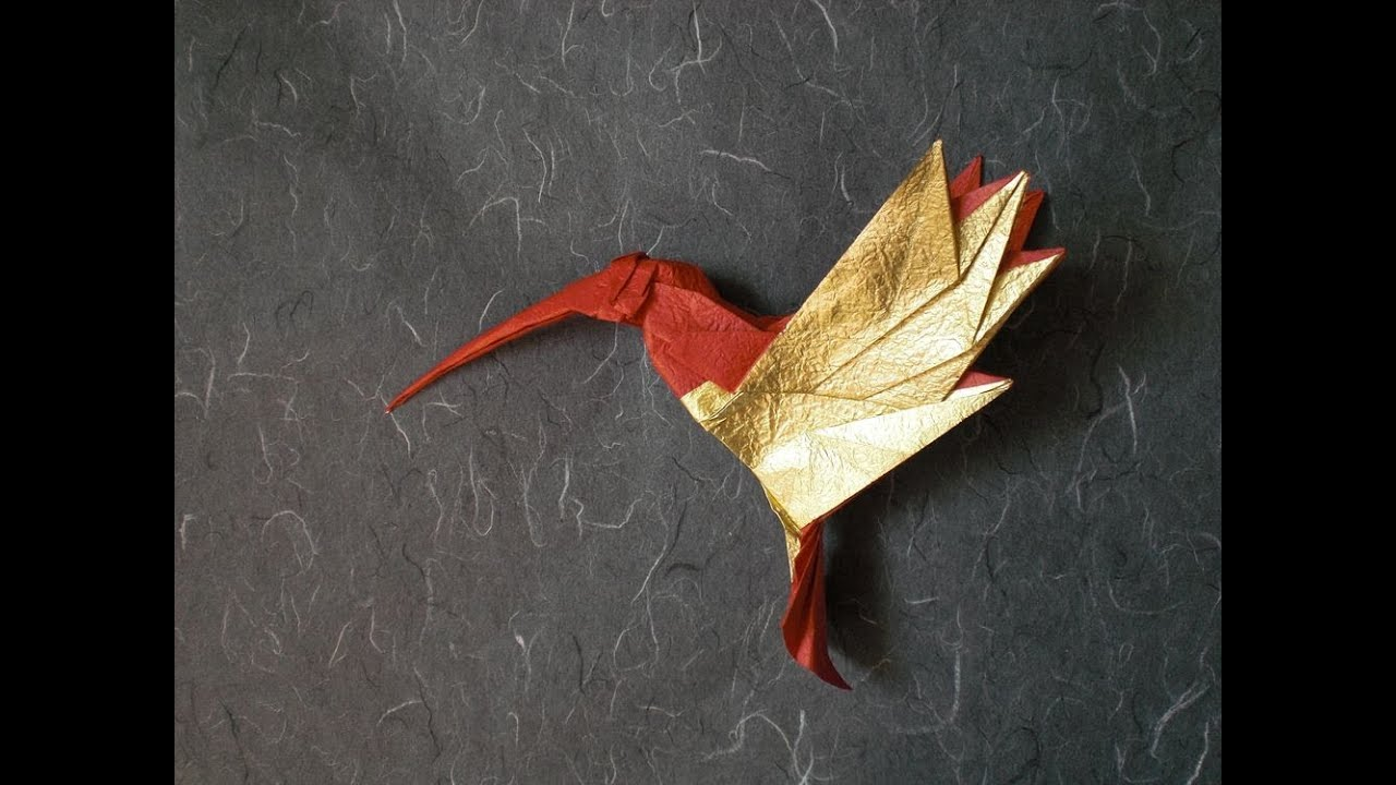 Origami Hummingbird Tutorial By Alexander Kurth Help With Steps 14