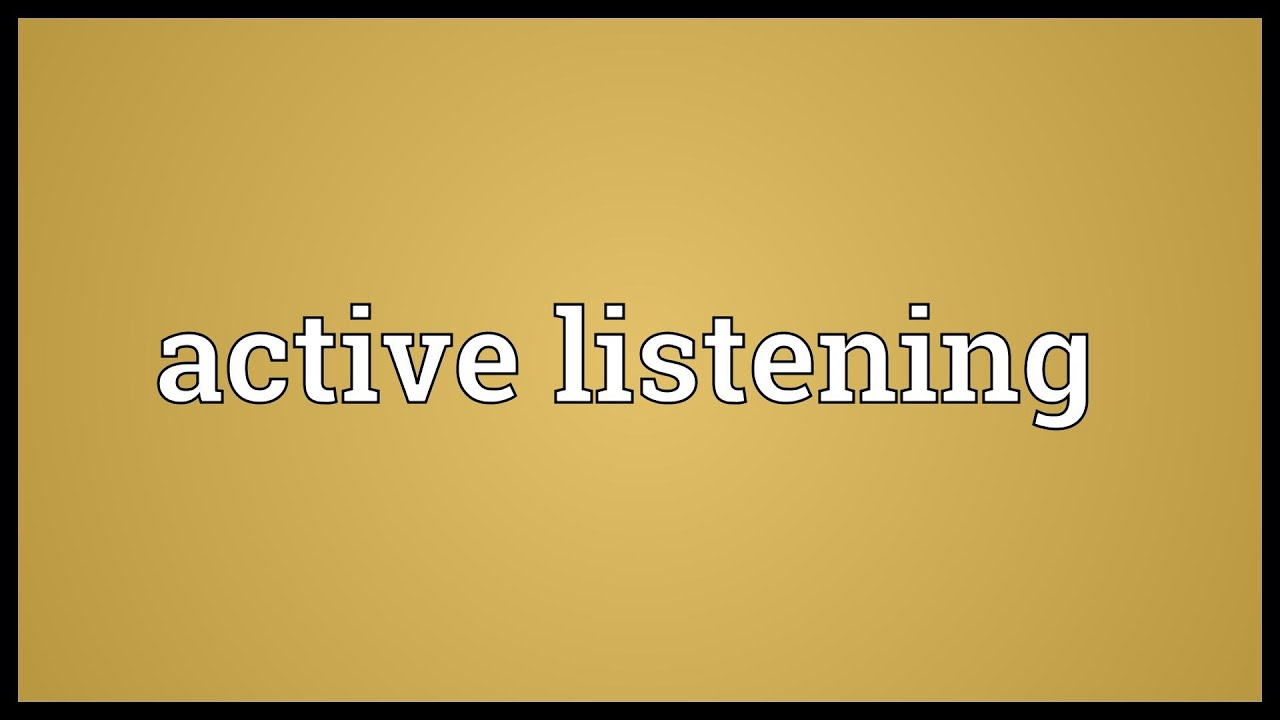 examples on tv of ineffective listening Essays - largest database of quality sample essays and research papers on effective and ineffective listening 2013 listening behavior listening examples:.