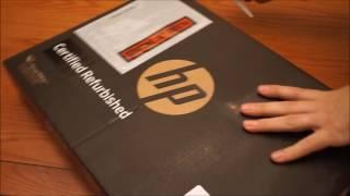 Refurbished HP Elitebook 745 G3 laptop unboxing