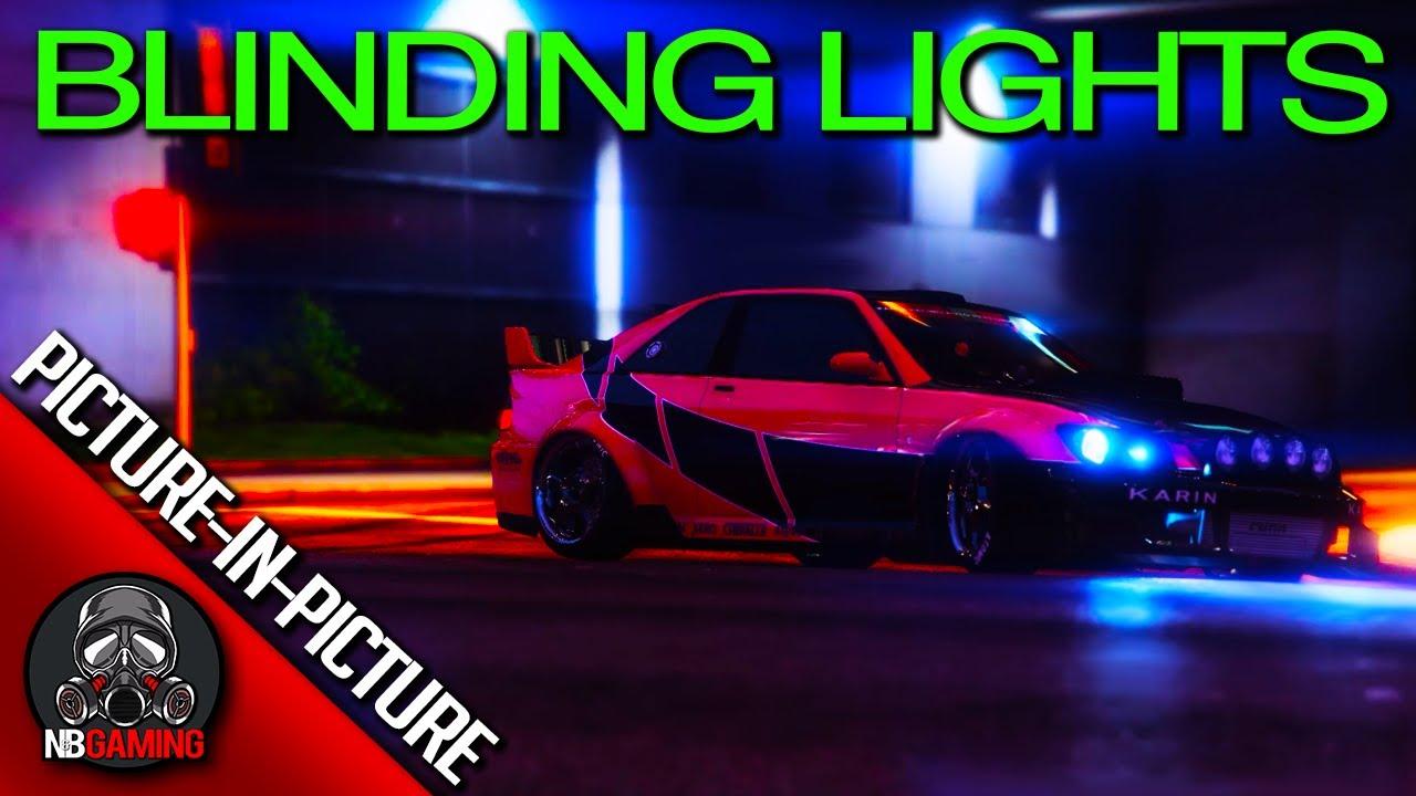 The Weeknd - Blinding Lights - GTA5 Shot for Shot Remake