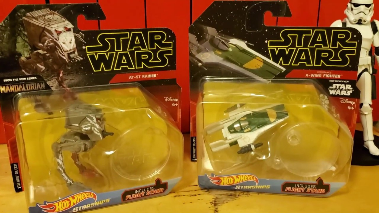 Star Wars Triple Force Friday Early Review Hot Wheels Starships Youtube
