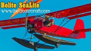 Belite Aircraft's Sealite Amphibious Ultralight Aircraft.