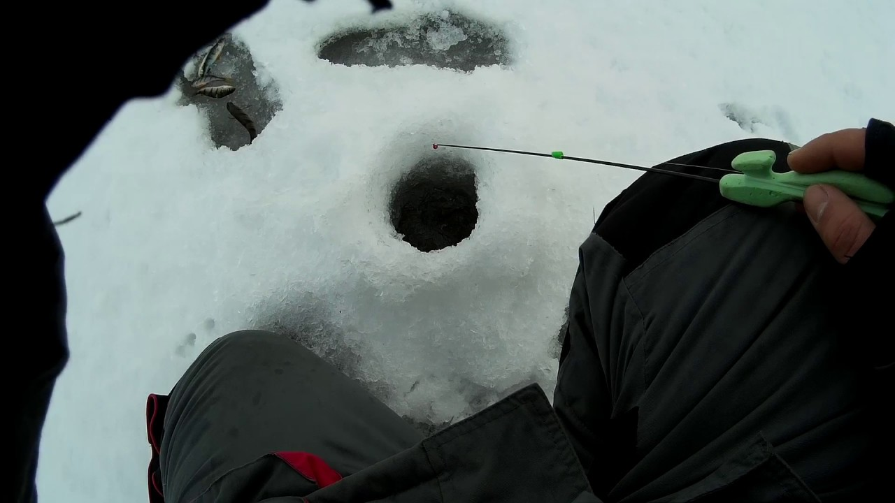 Ловля окуня на блесну зимой. Зимняя блесна Матвейчикова.