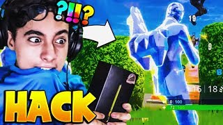 THIS HACKER ME MONTRE ITS SKIN 'DIAMOND' SECRET TO THE 'GALAXY', I PRANK ON FORTNITE!