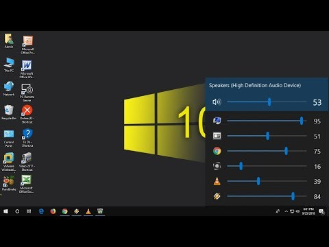 individual-apps-volume-control-for-windows-10/8/7