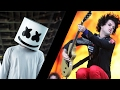 Marshmello Vs Green Day - Alone Basket Case (Djs From Mars Bootleg)
