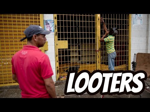 Dealing with Looters during an Emergency