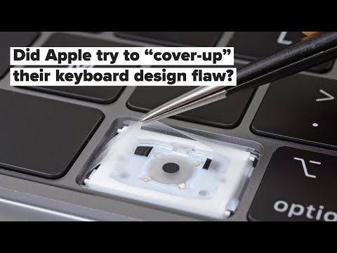 eeed4e28f6f iFixit finds a 'cover-up' inside new MacBook Pro keyboards