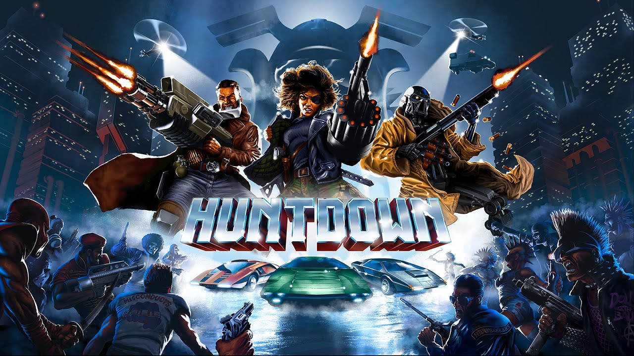 Launch Trailer για το Huntdown