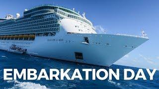 Mariner of the Seas   Embarkation Day!