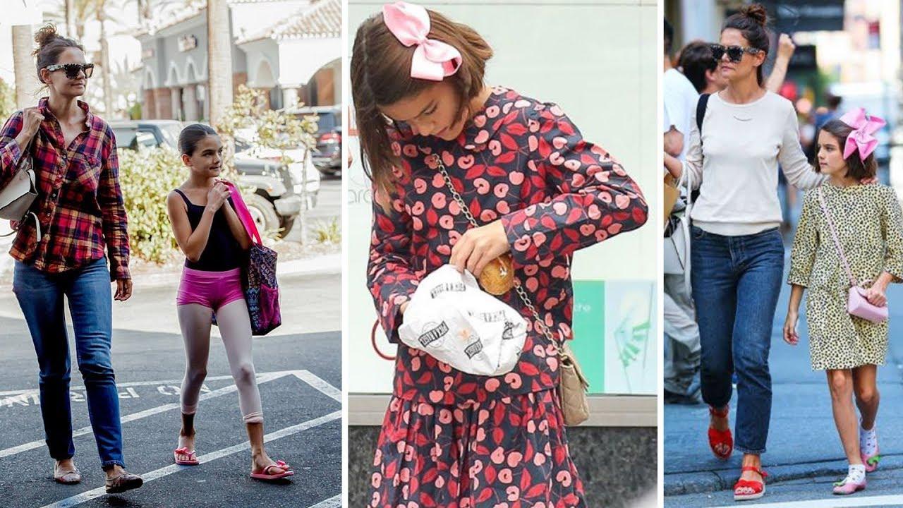 Katie Holmes's Daughter Suri Cruise : Dressing Style ...