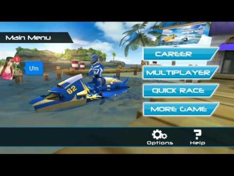 Game mobile || Đua thuyền siêu tốc [ Powerboat Racing ] + Nói nhảm
