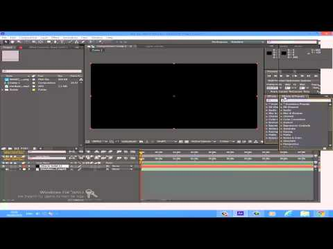 Adobe After Effects CS5/6 Equalizer Tutorial (English speakers and other languages simply follow)