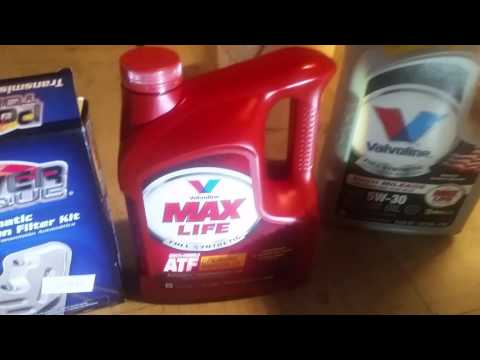 2000 vw jetta changing the transmission oil and filter part 1